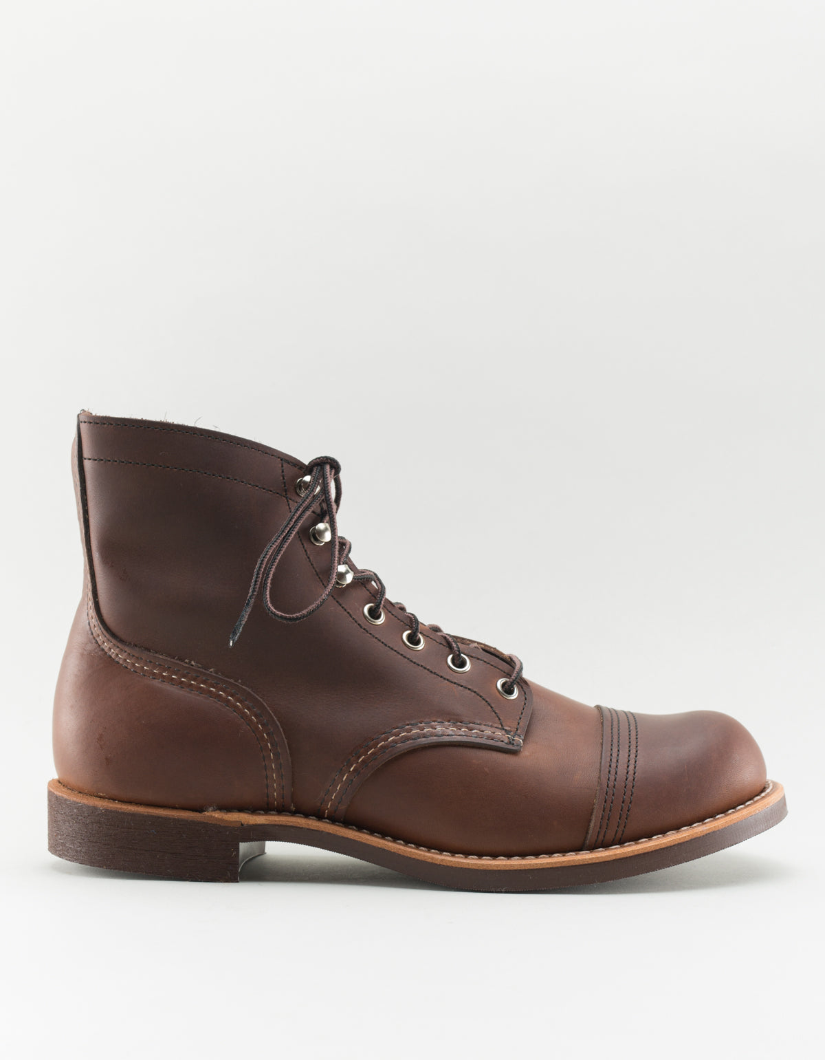 Red Wing Iron Ranger Boot Amber Harness Leather