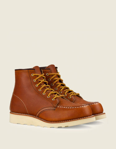 "Red Wing Women's 6"" Classic Moc, Oro Legacy Leather."