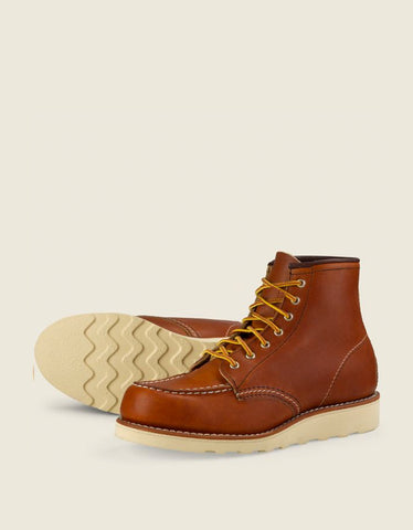 "Red Wing Men's 6"" Classic Moc Oro Legacy Leather"