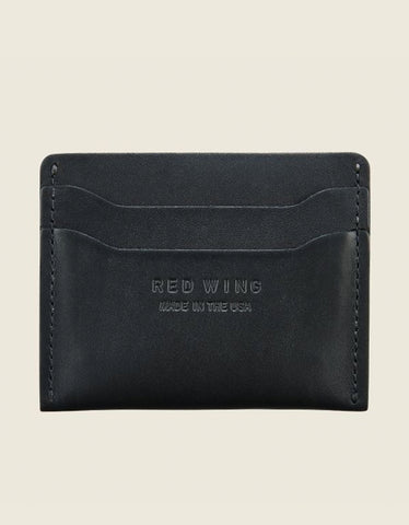 Red Wing Card Holder Black Frontier