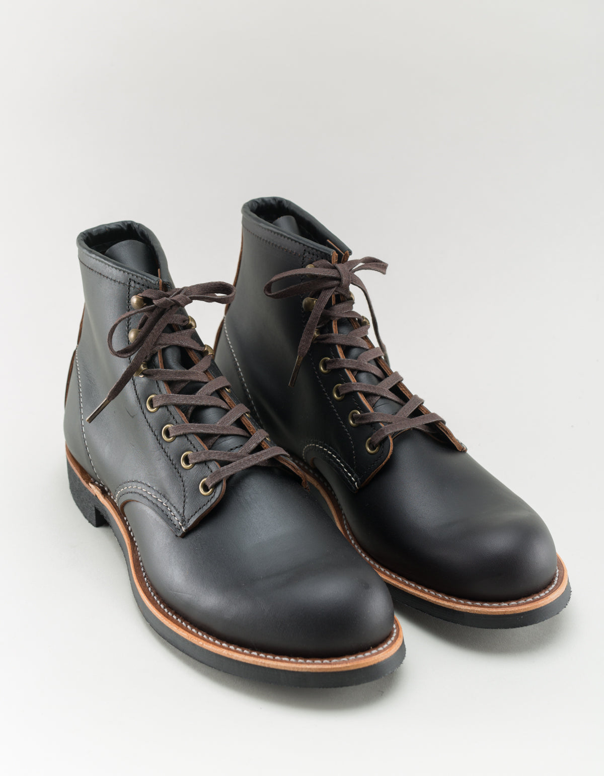 Red Wing Blacksmith Boot Black Prairie Leather