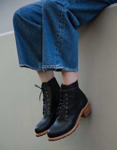 Red Wing Clara Boot Black Boundary Leather