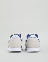 Reebok Men's Classic Nylon Archive White Collegiate Navy