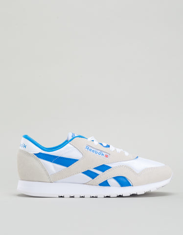 Reebok Classic Nylon Archive White Cycle Blue