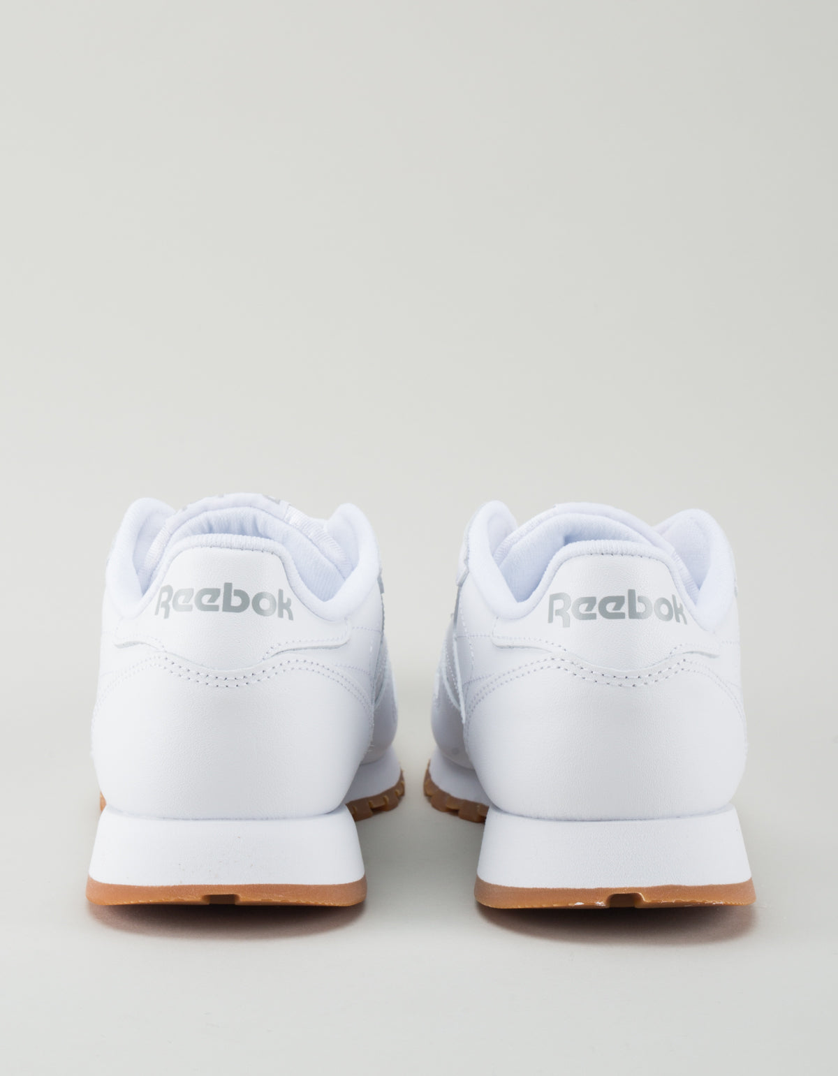 Reebok Women's Classic Leather White, Gum