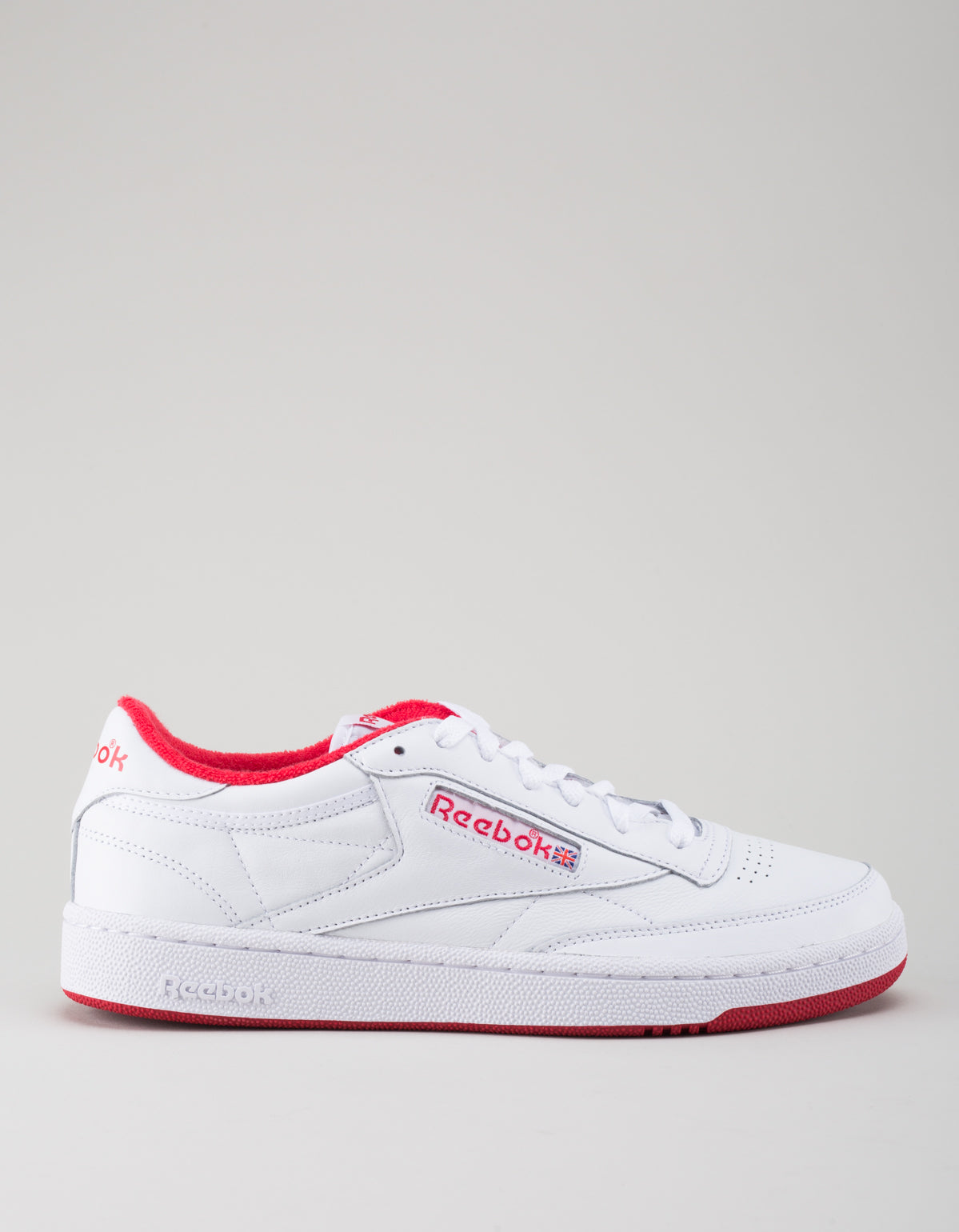 dd0c991ba0edd8 Reebok Men s Club C 85 Archive White Red – Still Life