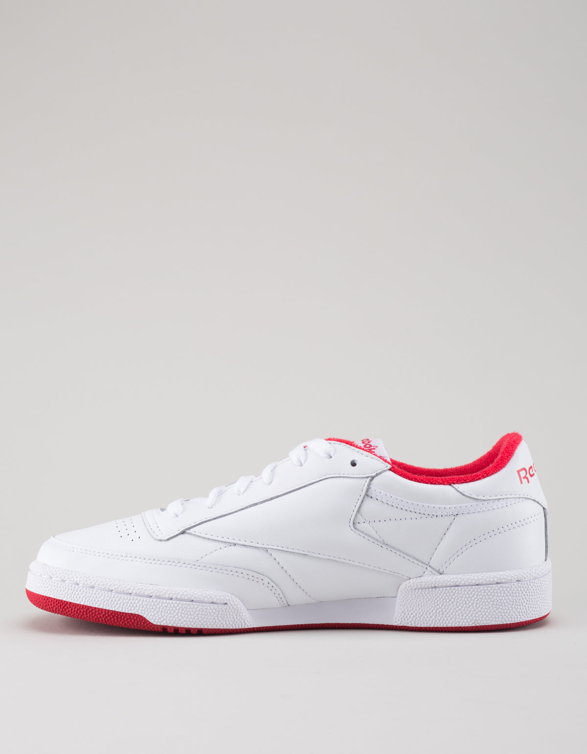 Reebok Men's Club C 85 Archive White Red