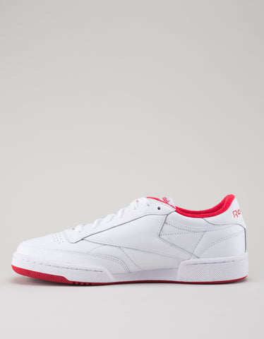 Reebok Club C 85 Archive White Red