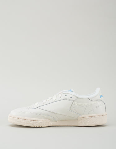 Reebok Men's Club C 85 Vintage Classic White, Denim Glow