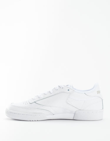 Reebok Women's Club C 85 White Light Grey