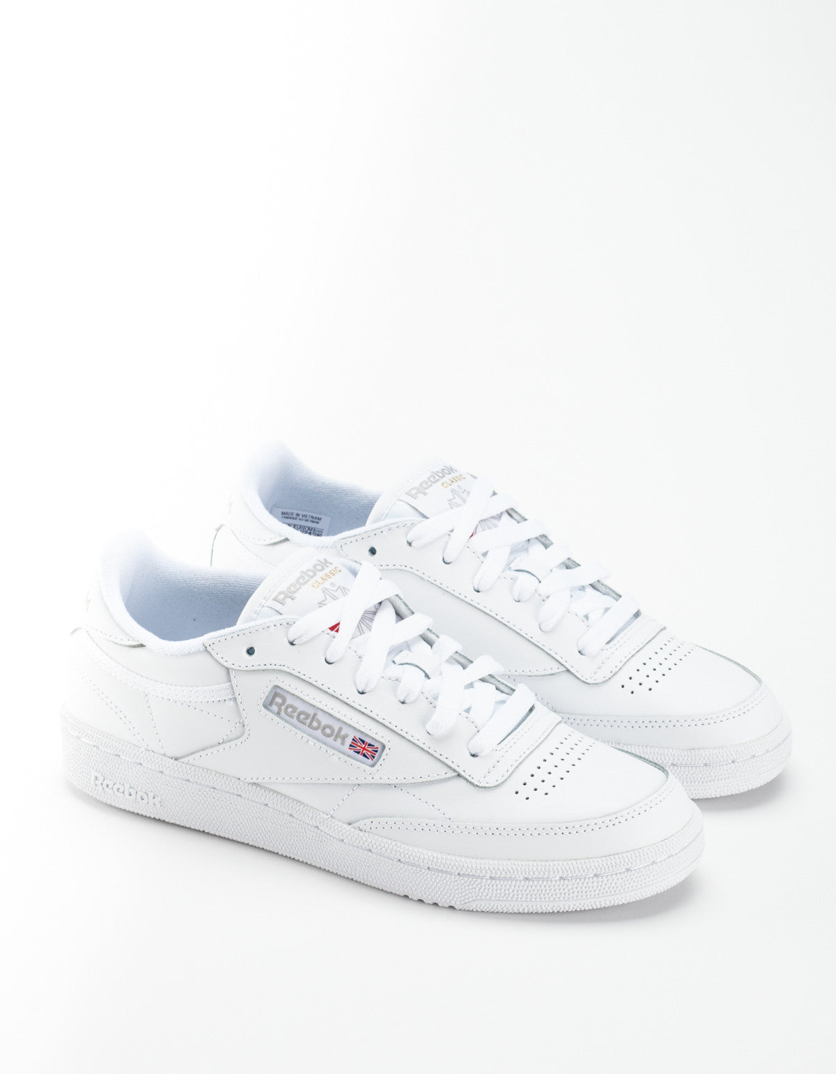 78cd83f3e54a37 Reebok Women s Club C 85 White Light Grey – Still Life