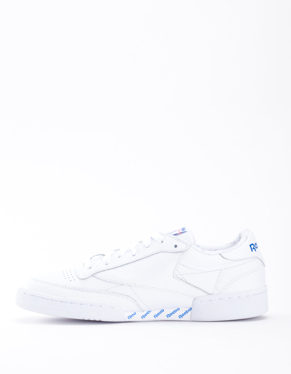 Reebok Club C 85 SO White Solid Grey Vital Blue Red Black