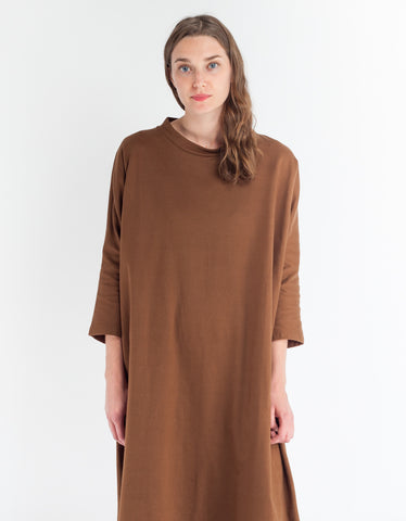 Revisited Cocoon Dress Tobacco