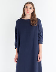 Revisited Shelter Dress Navy