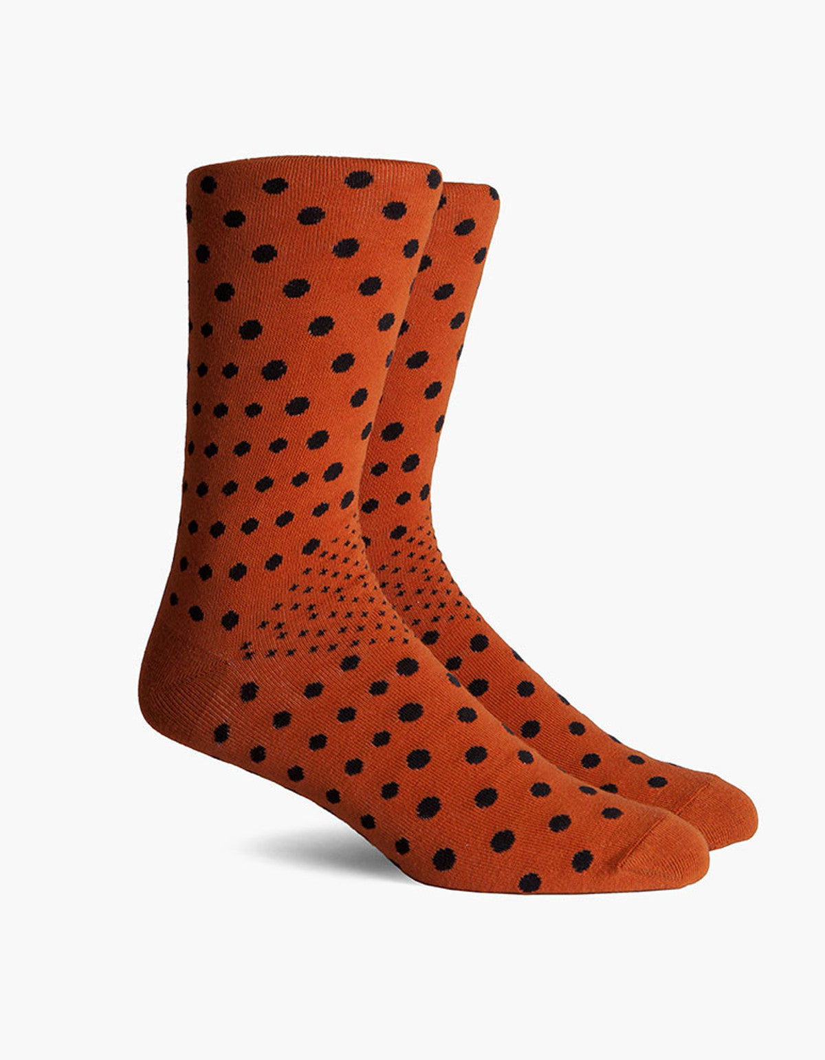 Richer Poorer Fellow Crew Sock Orange