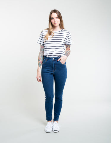 Rollas Eastcoast Ankle Jean Highway Blue