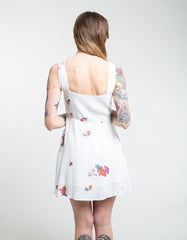 Rollas Jasmine Yard Floral Dress Vanilla