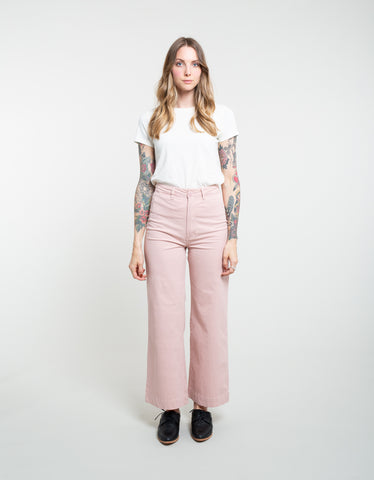 Rollas Old Mate Pant Dusty Pink