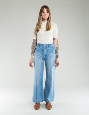 Rollas Sailor Jean Sky Blue