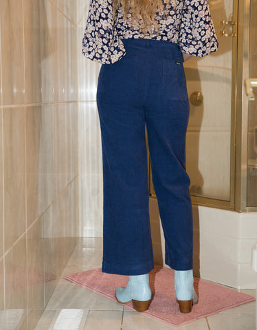 Rollas Sailor Cord Pant French Blue
