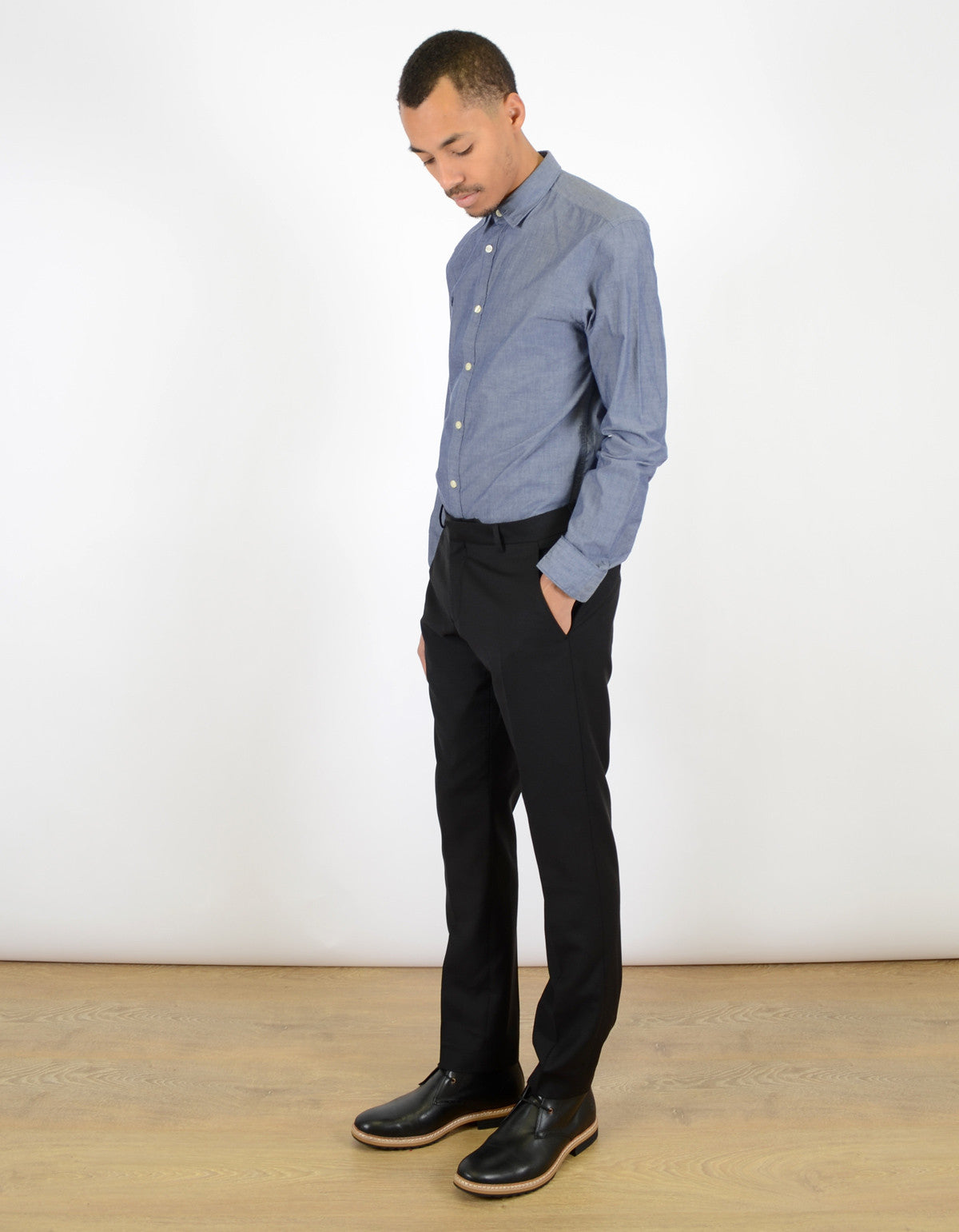 Selected Homme One Mylo Trouser Black - Still Life - 3