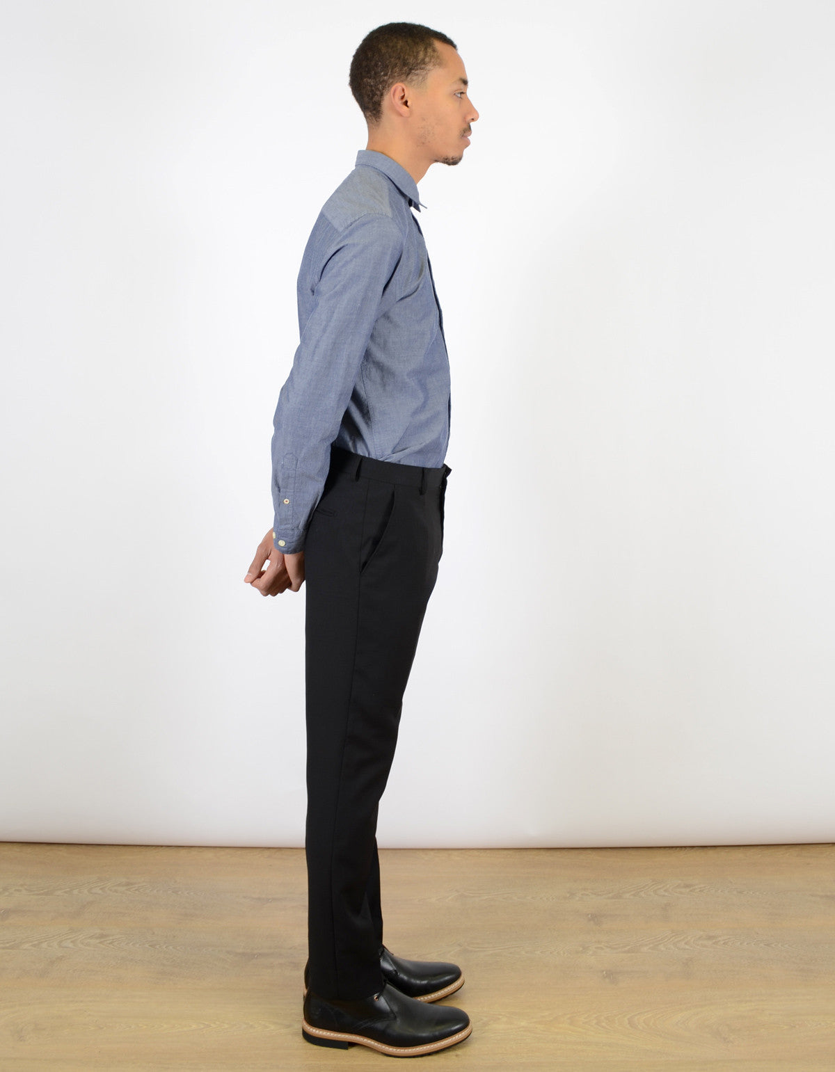 Selected Homme One Mylo Trouser Black - Still Life - 4