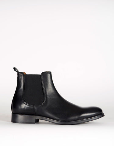 Selected Homme Oliver Chelsea Boot Black - Still Life - 1