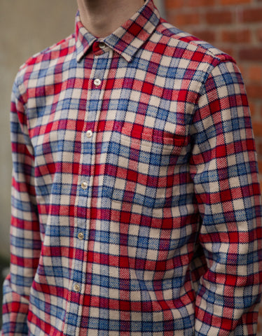 Portuguese Flannel NYC Long Sleeve Shirt Plaid