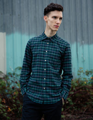 Portuguese Flannel Future Check Long Sleeve Shirt Plaid