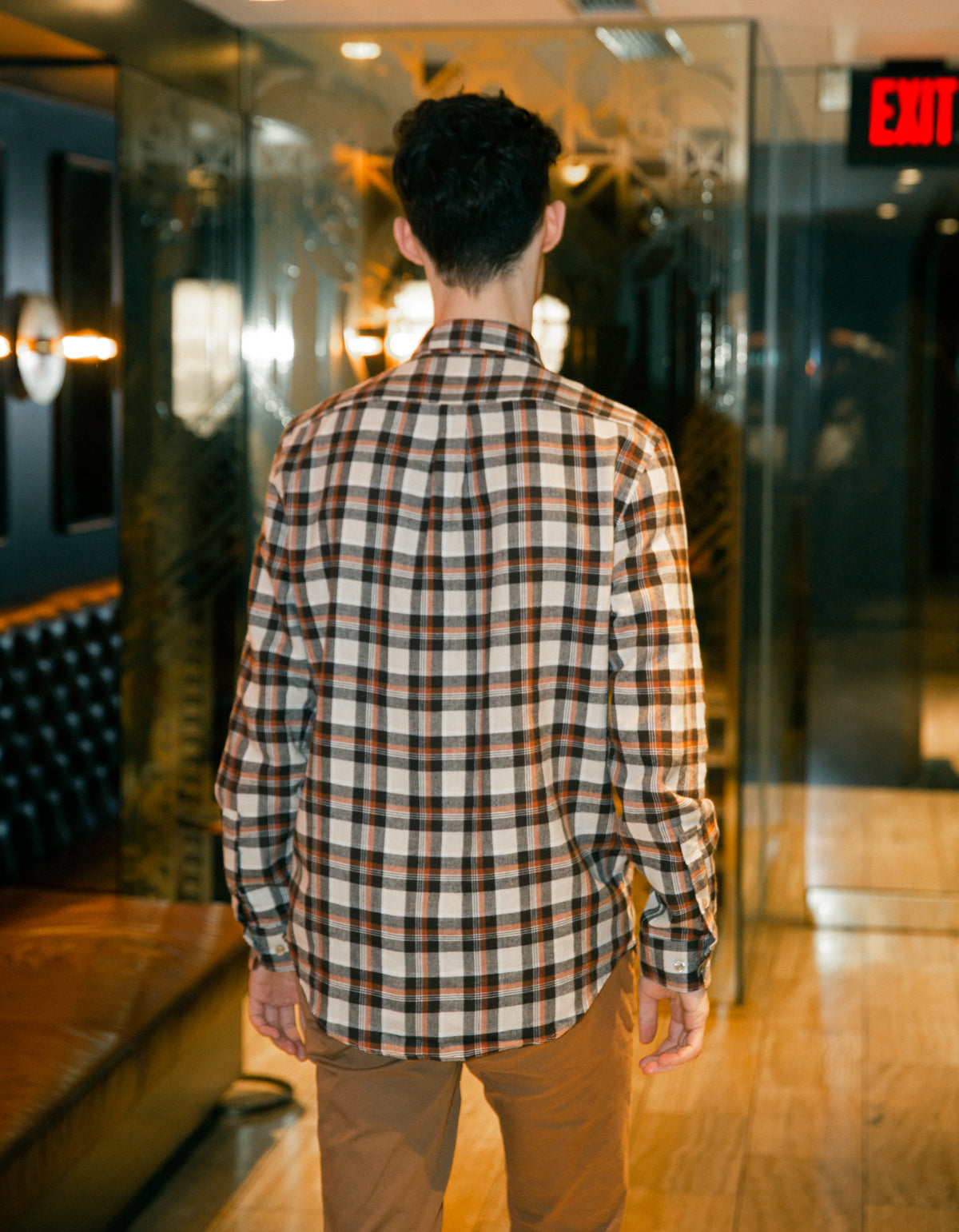 Portuguese Flannel Brownie Long Sleeve Shirt Plaid