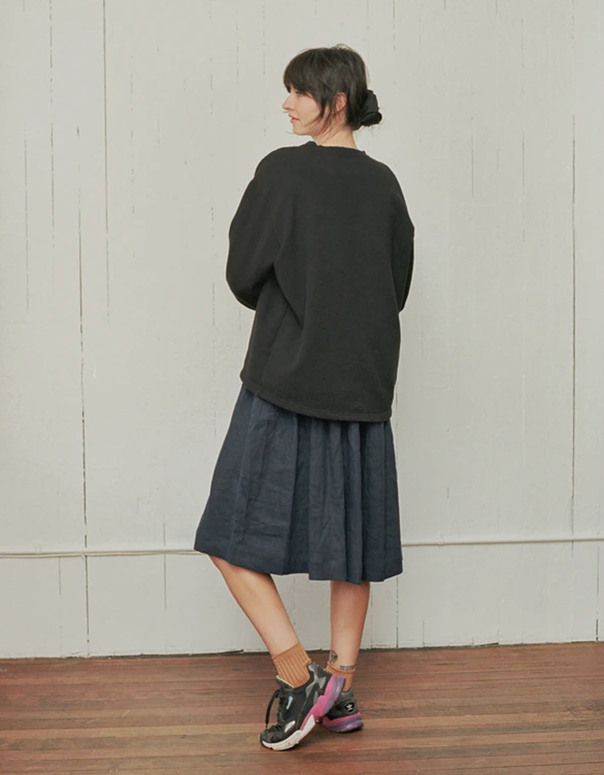 Shelter Milo Coat Black
