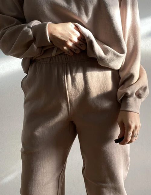 Shelter Organic Home Pants in Mauve