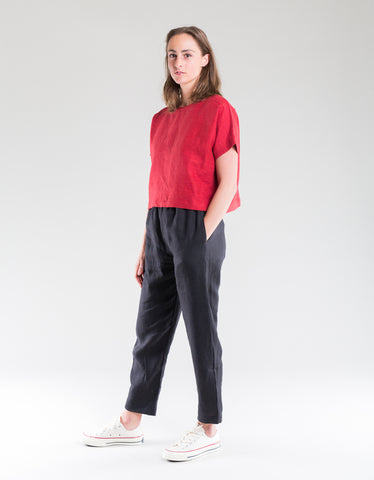 Sonny Tee Red Oak Linen