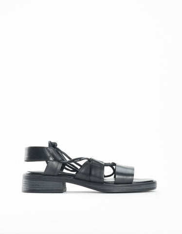Vagabond Ivy Sandal Black Lace Up