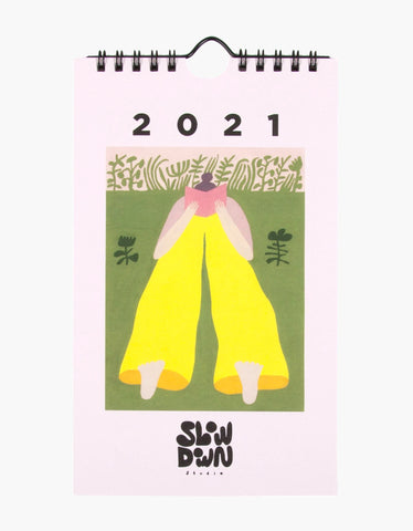 Slowdown Studio 2021 Mini Calendar