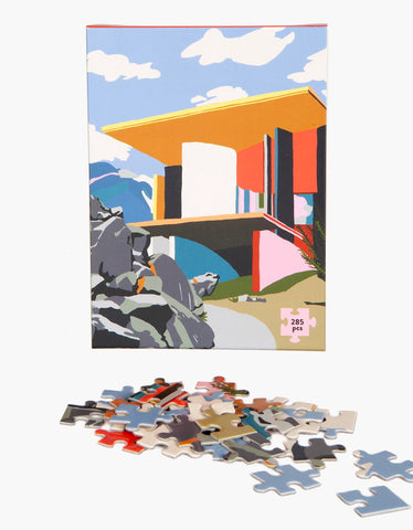 Slowdown Studio Yoro Park Puzzle by Charlie Bennell