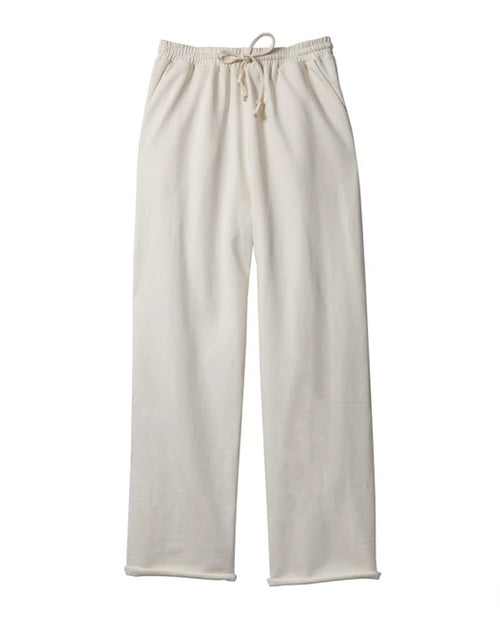 Soft Focus The Breeze Sweatpant in Ivory