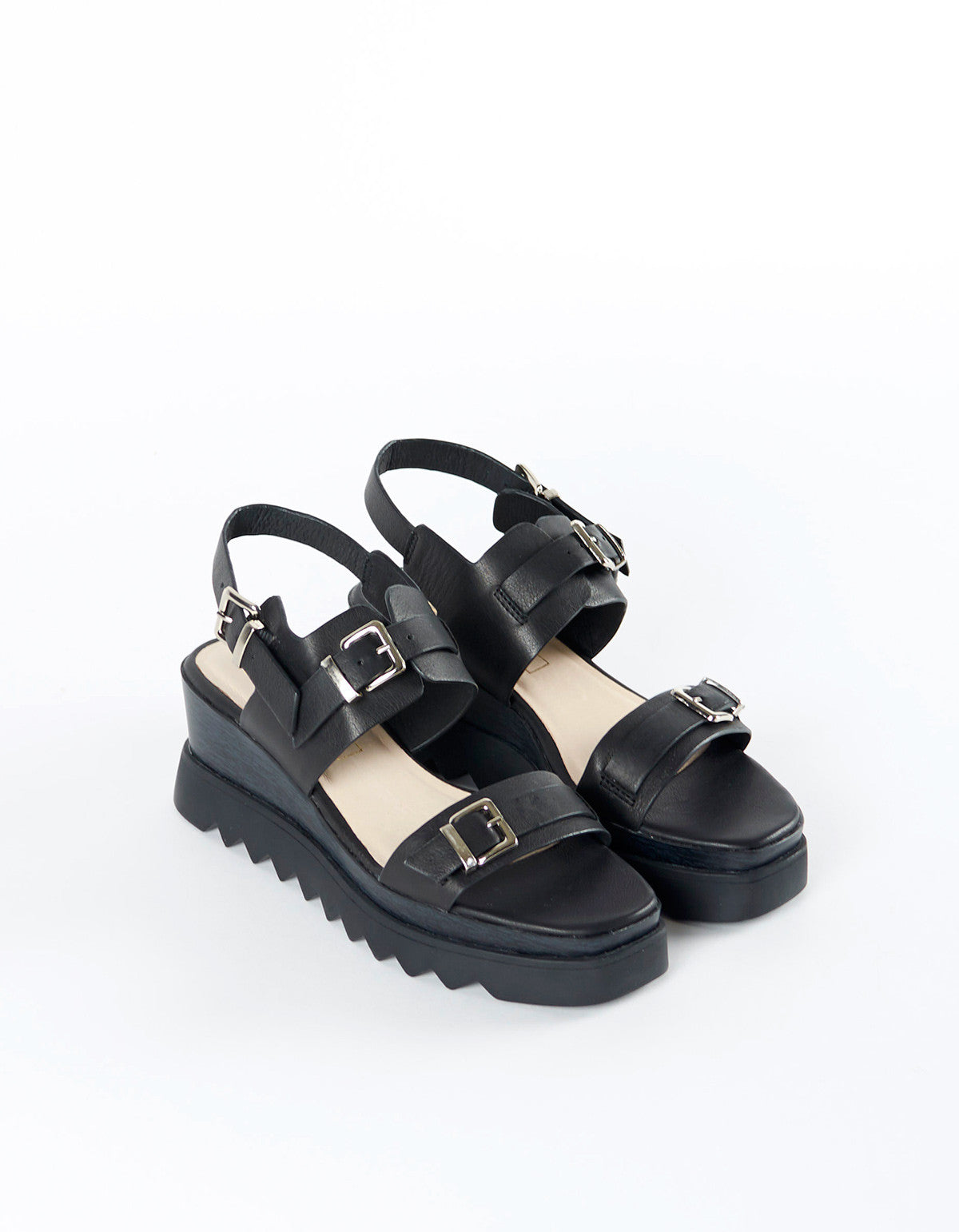 Sol Sana Gabrielle Wedge Black - Still Life - 3