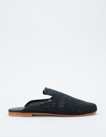 St. Agni Desi Knit Loafer Black