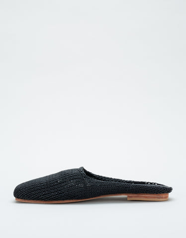 St. Agni Mae Knit Loafer Black