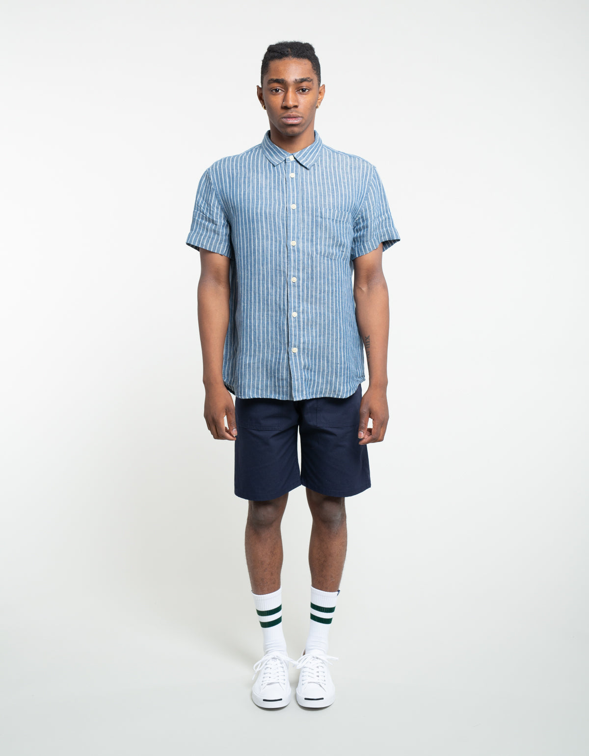Stan Ray Ripstop 4 Pocket Short Navy