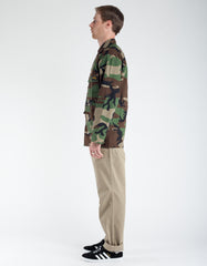 Stan Ray Rip Stop 4 Pocket Jacket Woodland Camo