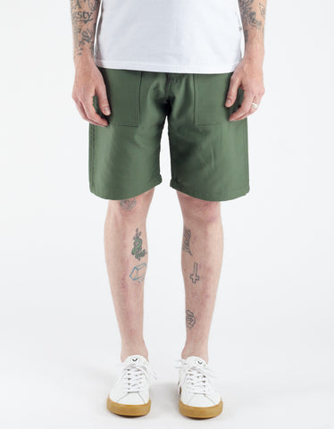 Stan Ray 4 Rip Stop Pocket Short Olive Sateen