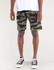 Stan Ray Fatigue Short Green Tiger Stripe Ripstop