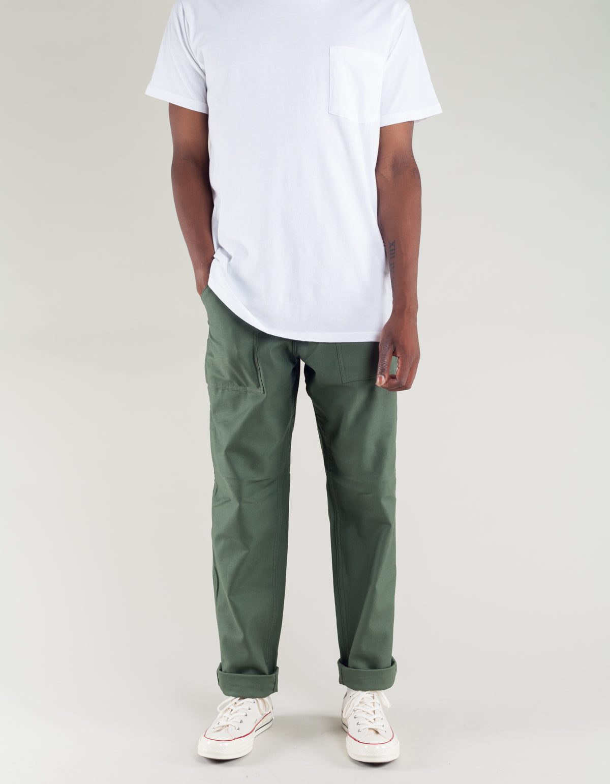 Stan Ray Taper 4 Pocket Fatigue Olive Sateen