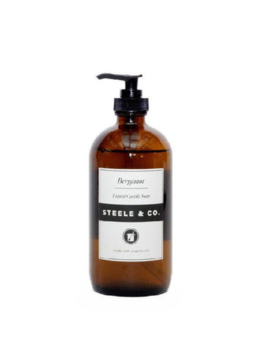 Steele & Co. Bergamot Liquid Soap - Still Life