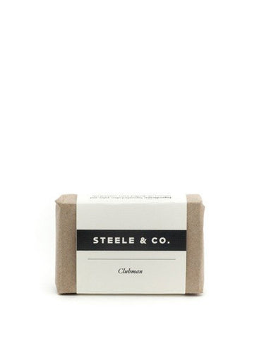 Steele & Co. Clubman Soap Bar - Still Life