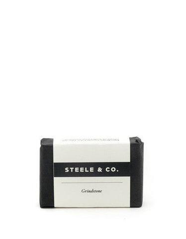 Steele & Co. Grindstone Soap Bar - Still Life