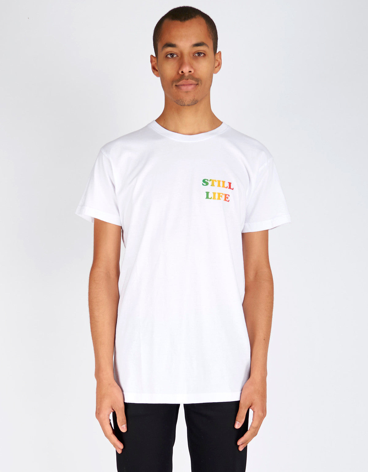 Still Life Simmer Down Tee White - Still Life - 1