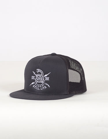 Still Life Trucker Hat Charcoal - Still Life